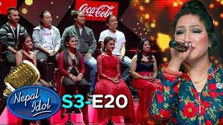 Coca-Cola Nepal Presents NEPAL IDOL SEASON 3 | PERFORMANCE DAY | EPISODE 20 | AP1HD