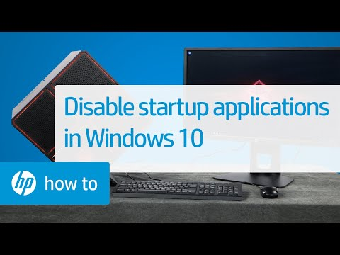 Increasing Computer Performance by Disabling Startup Applications in Windows 10