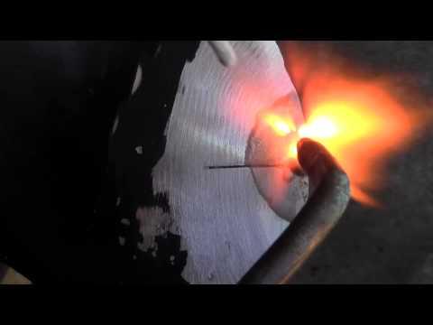 Aluminum Propeller Soldered or Brazed with Super Alloy 5 Welding Rod