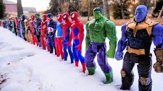 85 SUPERHEROES! Spider-Man, Hulk, Marvel Avengers, DC Justice League, TMNT, Star Wars, Power Rangers