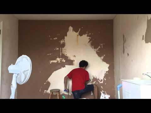 Plastering main bedroom #1