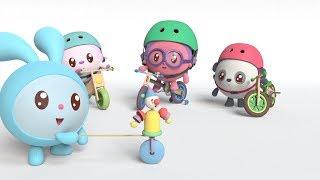 Малышарики - Новые серии - Помощница. Велосипед (77 серия) Развивающие мультики