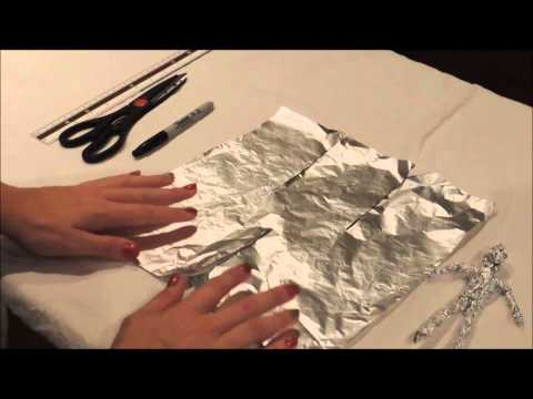 How to make a tin foil figure