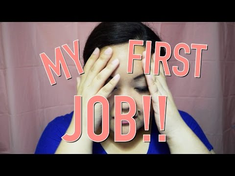 My First Job | RECEPTIONIST