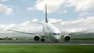 Garuda Indonesia Flight 200 - Crash Animation