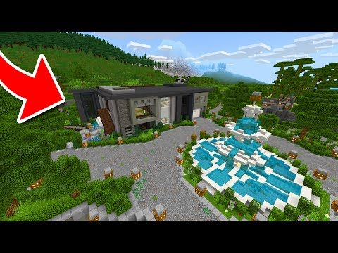 $10,000,000 HOUSE in Minecraft Pocket Edition!