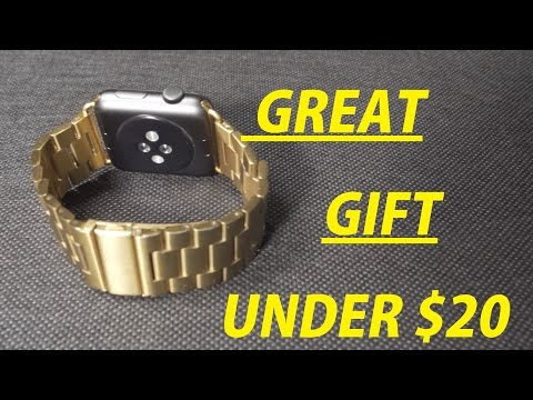 $17 Gold Apple Watch Band - Affordable Christmas Gift