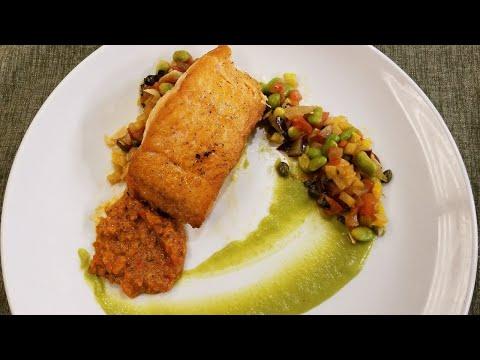 In the Kitchen:  Pan Roasted Norwegian Salmon