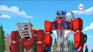 """TRANSFORMERS: RESCUE BOTS """"What Lies Below"""" Clip 4 (Featuring Peter Cullen & Mark Hamill!)"""