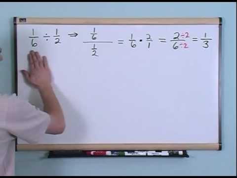 Dividing Fractions - 4th Grade Math Tutor