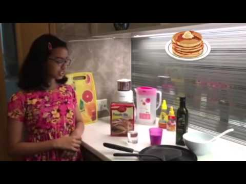 How to make a pancake - easy step by step instruction