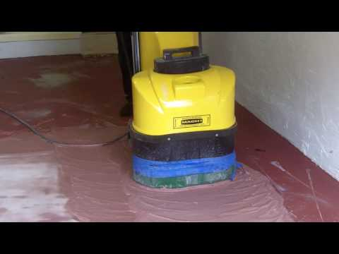 How to Remove Paint on a Garage Floor Start to Fin