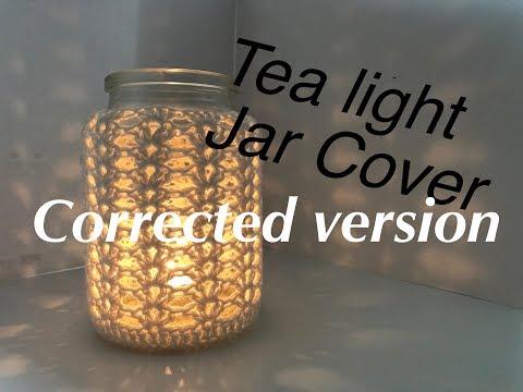 Ophelia Talks about Crochet Jar Cover 2.0