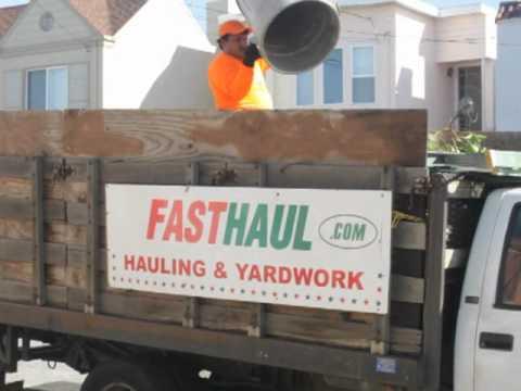 San Francisco Landscaping & Junk Hauling | Fast Haul