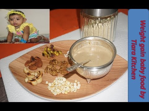 Weight  Gaining  Food for Babies ଶିଶୁ ଆହାର Weight Gaining Food Recipe for10+ Months Kids/Baby