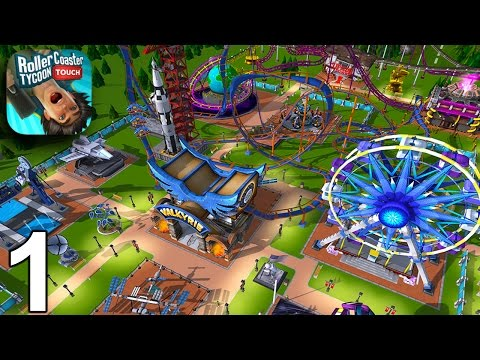 RollerCoaster Tycoon Touch - Getting Started - Gameplay Part 1 (iOS Android)