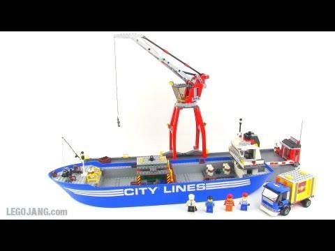 LEGO City 7994 Harbor & cargo ship review!