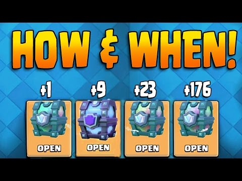 HOW TO GET FREE LEGENDARY CHESTS & SUPER MAGICAL + WHEN! Clash Royale LEGENDARY CHEST OPENING!!
