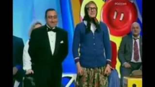 Дуэт Карена Аванесяна и новой русской бабки Цветочка. Помнишь это или нет?