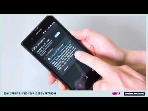 SONY XPERIA Z / HOW 2 Find your lost smartphone?