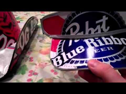 Cowboy Beer Box Hats, Take a closer look