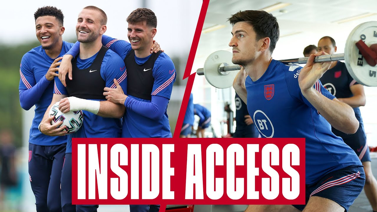 Mount v Maguire In The Gym, Possession Games & Departure For Scotland 🏋️♂️  Inside Access | England