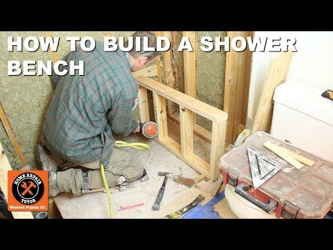 Shower Bench Seat Framing and Construction for Wedi Fundo Primo (Step-by-Step)
