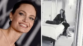 See How Angelina Jolie and Her Family Got Ready for the