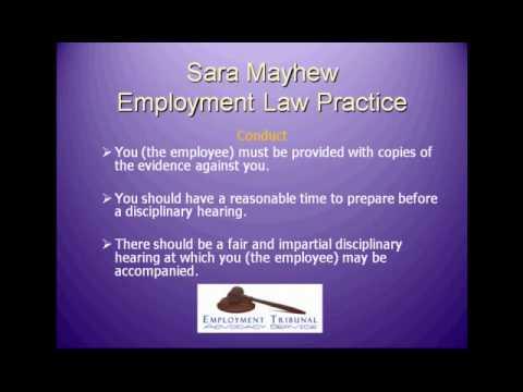 Employment Law Practice: Unfair Dismissal