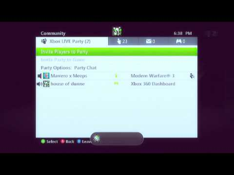 How to glitch into a Invite only Xbox Live Party