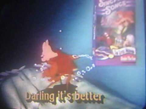 Disney Sing Along Songs Very Merry Christmas Songs 1988 Vhs.Closing To Disney S Sing Along Songs Very Merry Christmas Songs 1994 Vhs