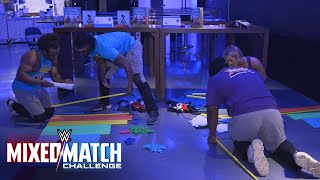 Carmella and The New Day compete in a pirate ship building competition with KaBOOM!