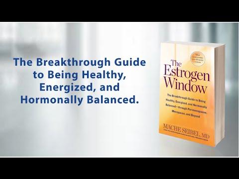 The Estrogen Window - The Breakthrough Guide to Being Hormonally Balanced Dr Mache Seibel
