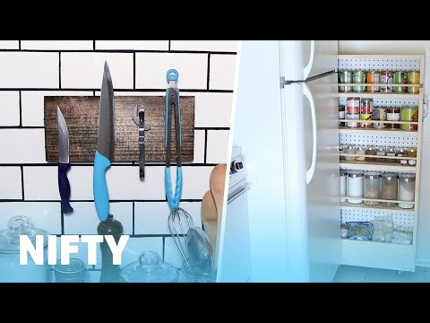 4 DIYs For Your Small Kitchen
