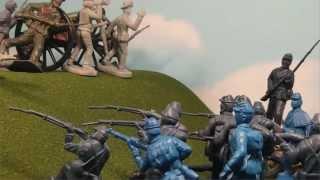 Civil War - Line Battle - Plastic Stop Motion