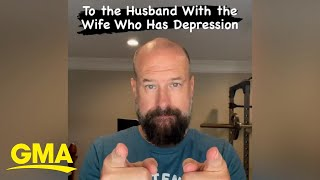 How to help a loved one struggling with anxiety or depression l GMA