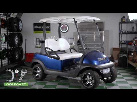 Folding Windshield Installation on Club Car Precedent Golf Cart