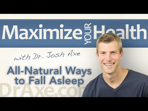 Losing Sleep? All-Natural Ways to Fall Asleep and Get High-Quality Sleep