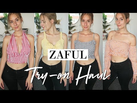 SUMMER Zaful Try-on HAUL!! ❤️ | COCO Chanou