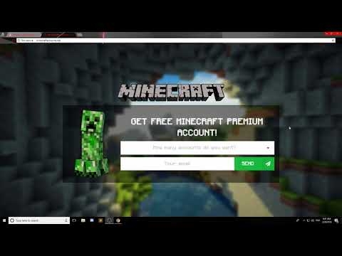 Free Minecraft Accounts - How To Get A Free Minecraft Account (Working 2018)