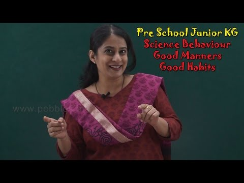 Let's Learn Good Behaviour | Good Manners For Kids | Good Habits For Kids | Pre School Junior