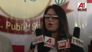 Mahima Chaudhry in Little kingdom Public School Gomat Aligarh