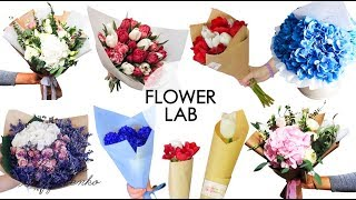 TOP 10 DIY: How to wrap a bouquet of flowers