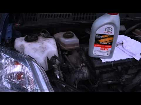 How to add engine oil Toyota Prius. Years 1998 to 2015