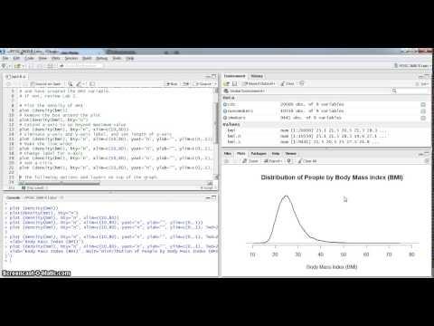 Lab 3: Creating Kernel Density Plots in R / R Studio