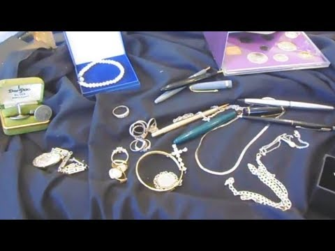 Look at smalls silver jewellery etc bought