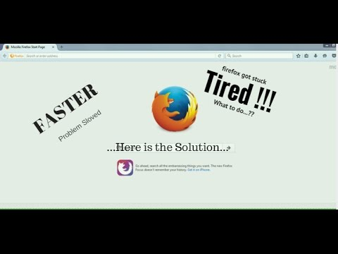 How to Make Mozilla Firefox run Faster.