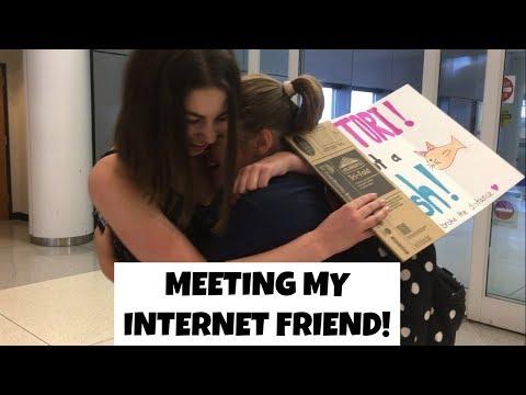 A Week With My Internet Friend!