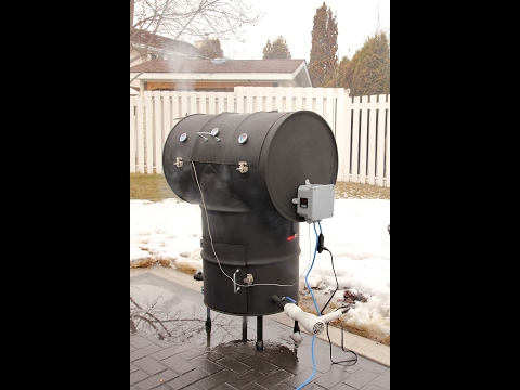 ULTIMATE DOUBLE BARREL T SMOKER