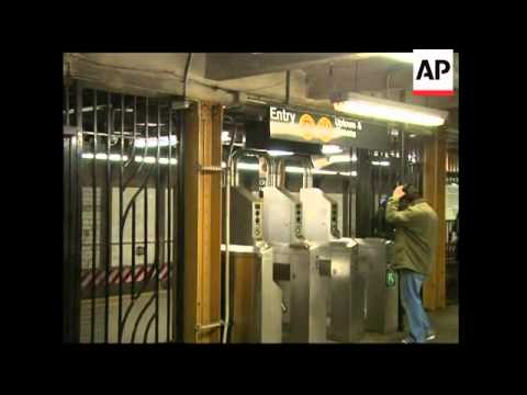 Claims in wake of Moscow blasts, half NY subway cameras don''t work